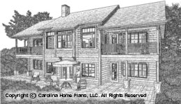 LG-2810 Sloped Lot Houseplan