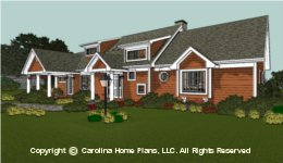 LG-2621 House Plan with Basement