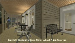 LG-2715 Large Porch House  Plan