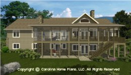 LG-2715 House Plan with Basement