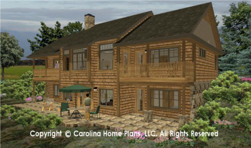LG-2810 Sophisticated Rustic House Plan