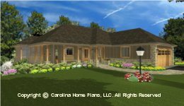 LG-3096 House Plan with Garage