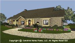 MS-2102 Downsize House Plan