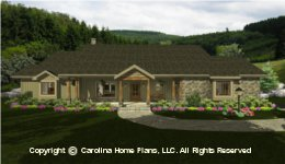 MS-2102-AC House Plan with Basement