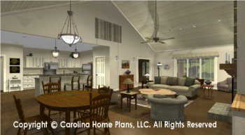MS-2102-AC Open Floor Plan
