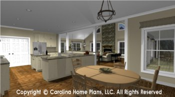 MS-2138-AC Open Floor Plan