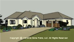 MS-2144 Downsize House Plan