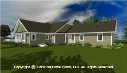 MS-2283-AC House Plan with Basement
