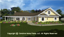 MS-2390 House Plan with Garage