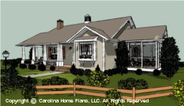 SG-1016 Retiree House Plan