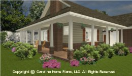 SG-1152  Wrap-Around Porch House Plan