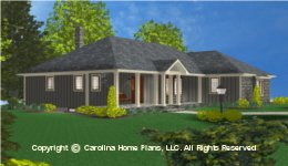 SG-1199 Best Seller Small  House Plan