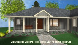 SG-1199 Porch  Houseplan