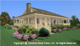SG-1275 Wrap Around Porch  Houseplan