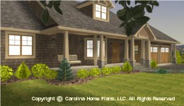 SG-1340 Front Porch  Houseplan
