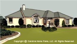 SG-1376 Empty Nester House Plan