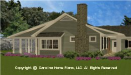 SG-1574 Porch Small Houseplan