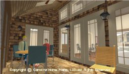 SG-1595 Screened Porch  Houseplan