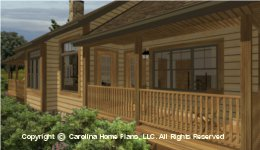 SG-1596 Back Porches  Houseplan
