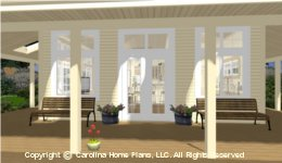 SG-576 Porch  Houseplan