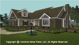 SG-1096 Downsizing Small House Plan