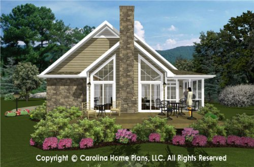 SG-1096 Sophisticated Rustic House Plan