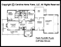1 story small house plans for aging in place empty nester Aging in place floor plans