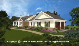 SG-1132 House plan with Garage