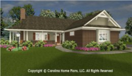 SG-1152 House Plan with Garage