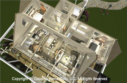 SG-1159 Dual Master Bedroom House Plan