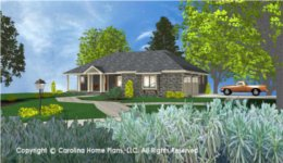 SG-1199 House Plan with Garage