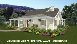 SG-1280 Best  Seller Small House Plan