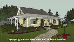 SG-1280  Smart Cost Saving House Plan