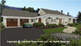 SG-1280 House Plan with Garage