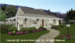 SG-1280 Small Lot House Plan