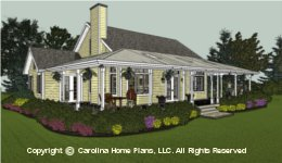 SG-1280 Small Retiree House Plan