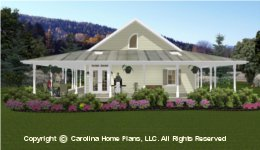 SG-1280 Wrap Around Porch  Houseplan