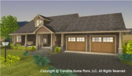 SG-1340 House Plan with Garage