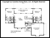 1 Story Small House Plans For Aging In Place Empty Nester