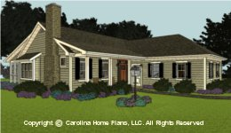 SG-1574  Economical House Plan