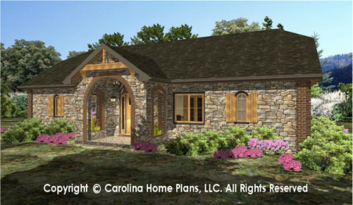SG-1576 Sophisticated Rustic House Plan