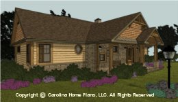 SG-1596  Economical Small House Plan