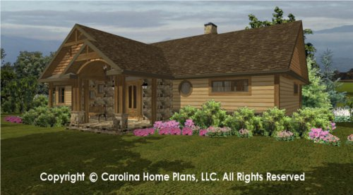 SG-1596 Sophisticated Rustic House Plan