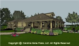 SG-1677 Downsizing Small House Plan