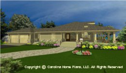 SG-1677 House plan with Basement