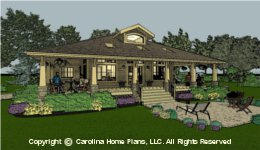 SG-1677 House Plan Sq Ft