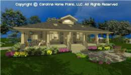 SG-1677  Wrap-Around Porch House Plan