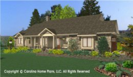 SG-1681 House Plan with Garage