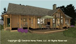 SG-1688 Small Retiree House Plan
