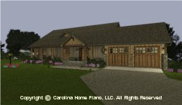 SG-1799 Small Empty-nester House Plan